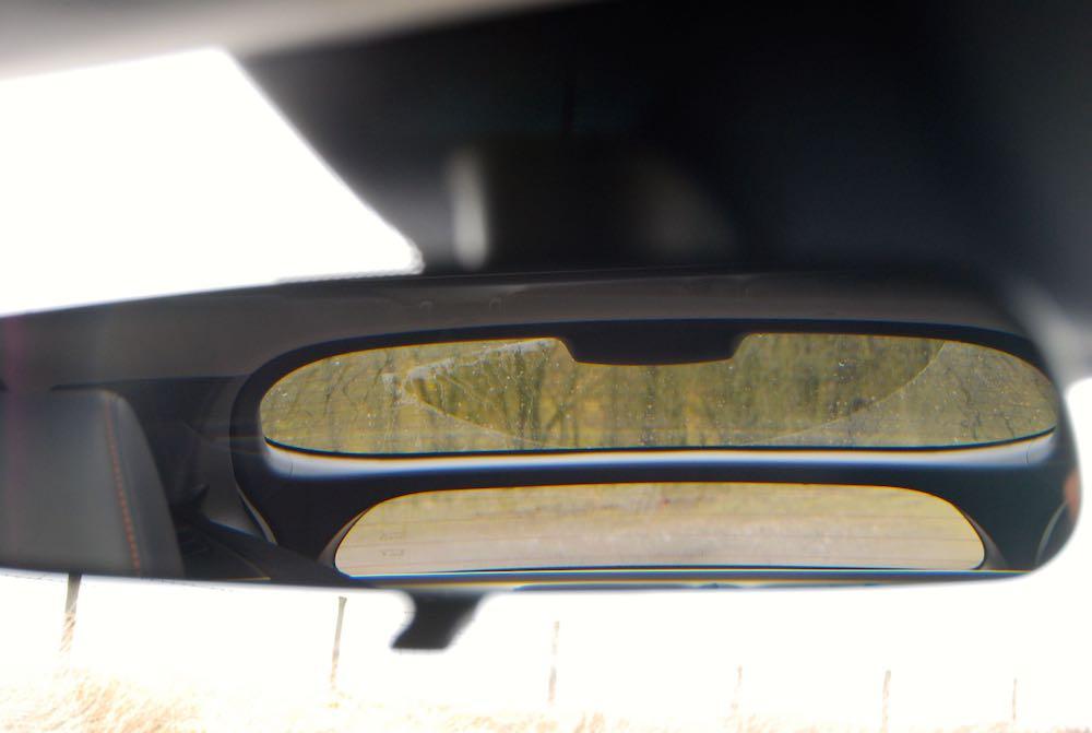 Mitsubishi Eclipse cross rear view mirror