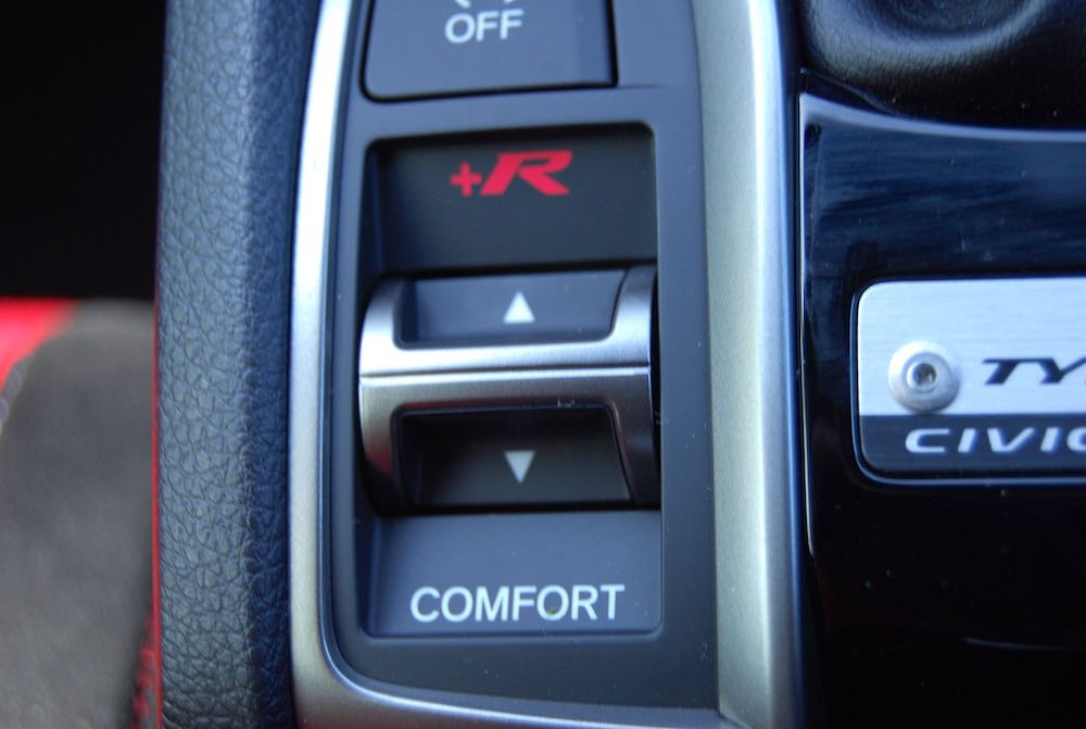 civic type r +R switch