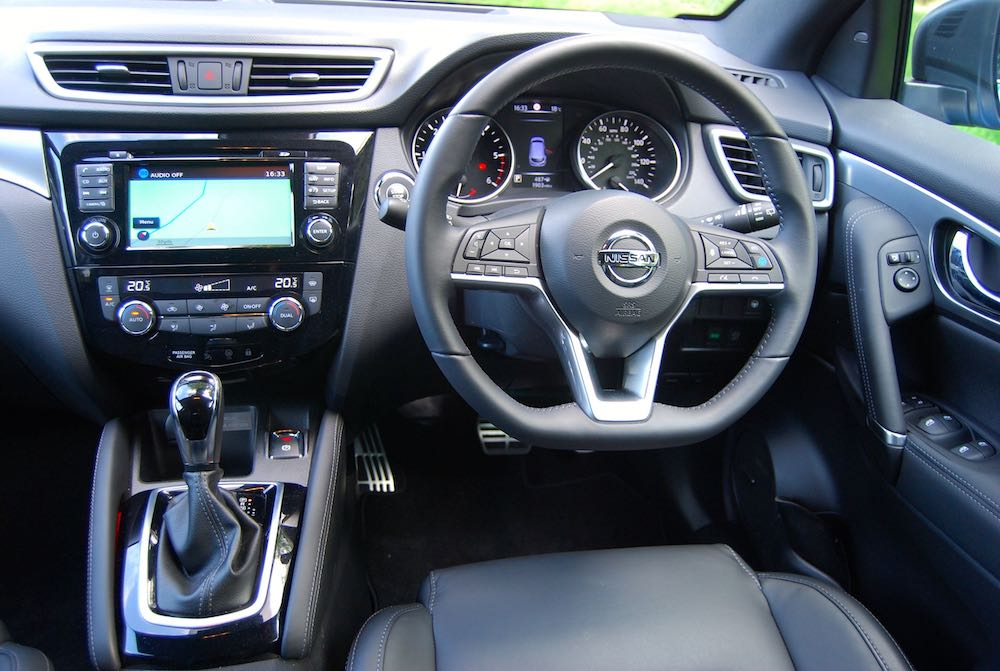 2018 nissan qashqai interior - Driving Torque