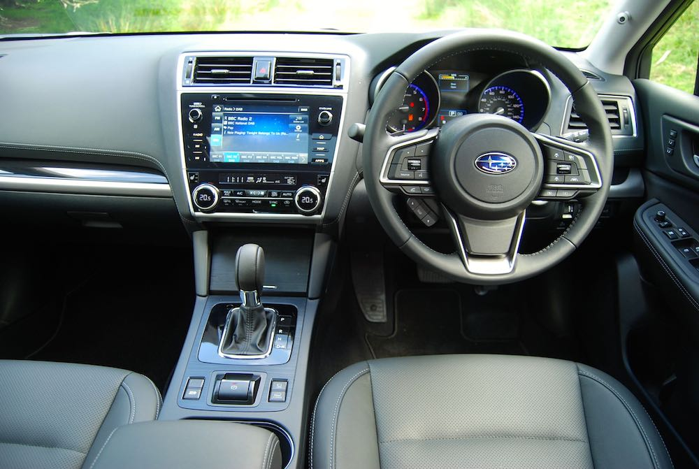 Subaru Outback interior dashboard