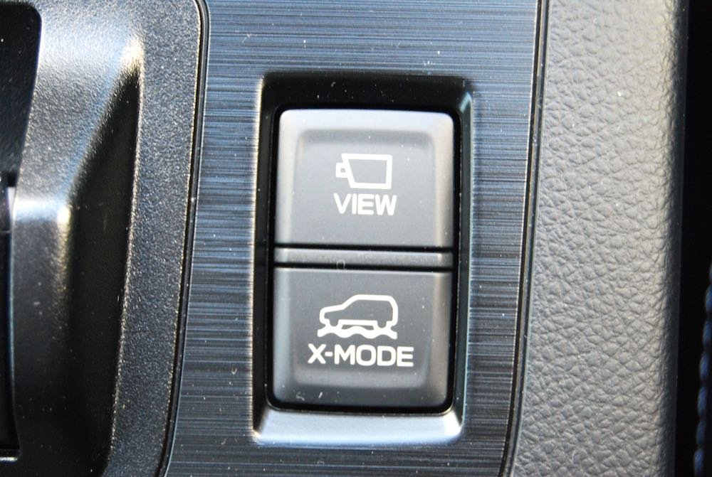 Subaru Outback x-mode button