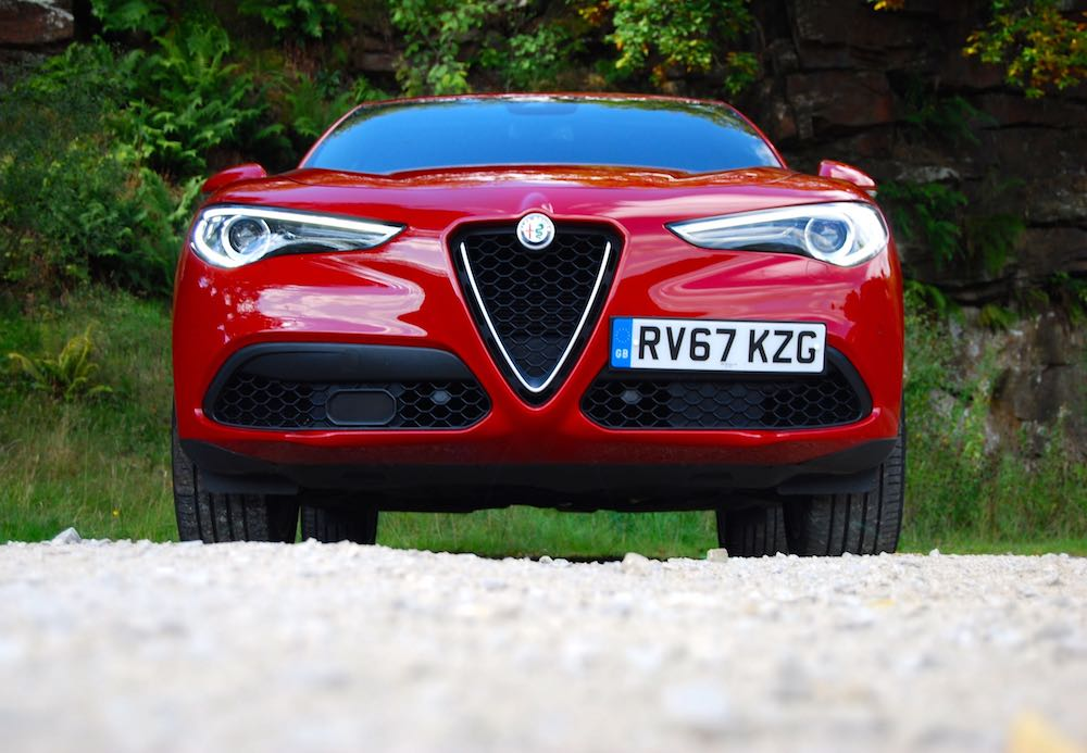 alfa romeo stelvio red front review roadtest