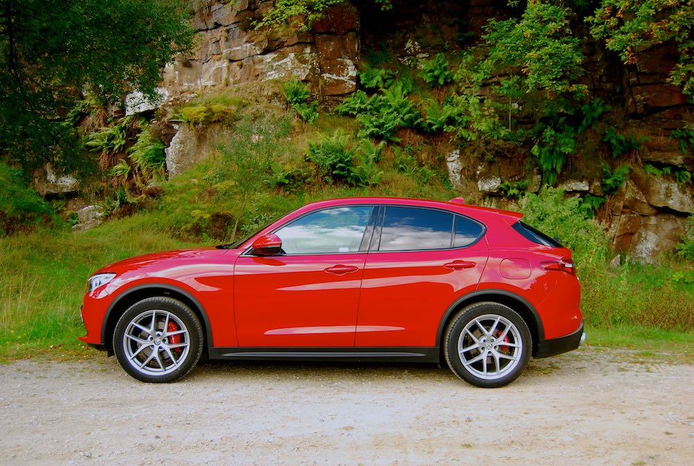 alfa romeo stelvio red side review roadtest