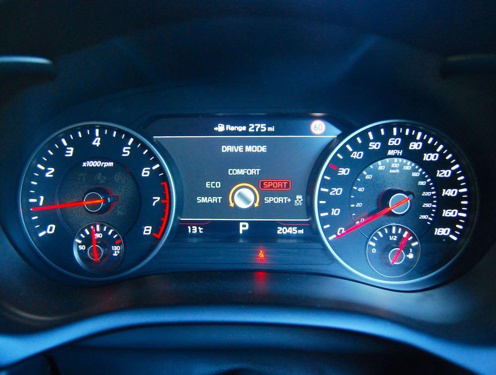 kia stinger driving modes review roadtest