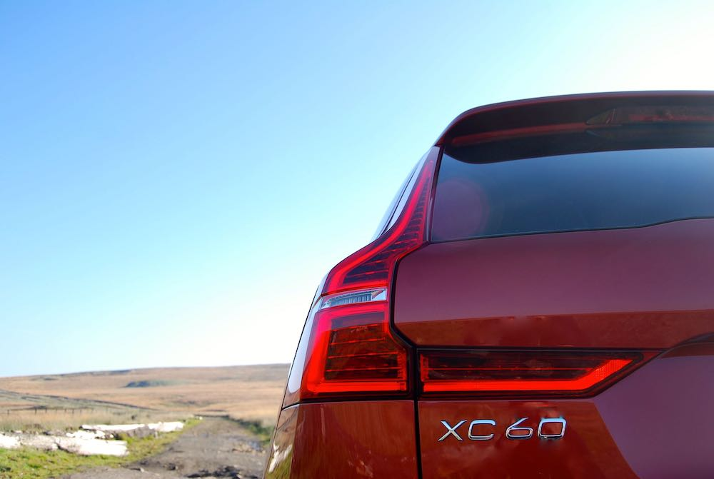 volvo xc60 red rear light review roadtest