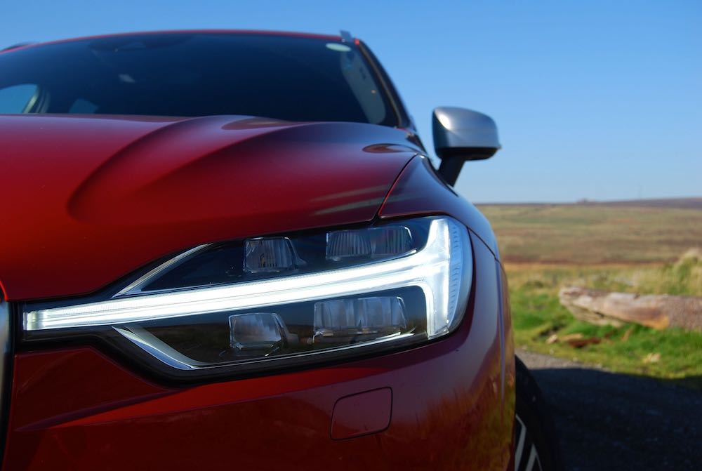volvo xc60 red thor hammer headlight review roadtest