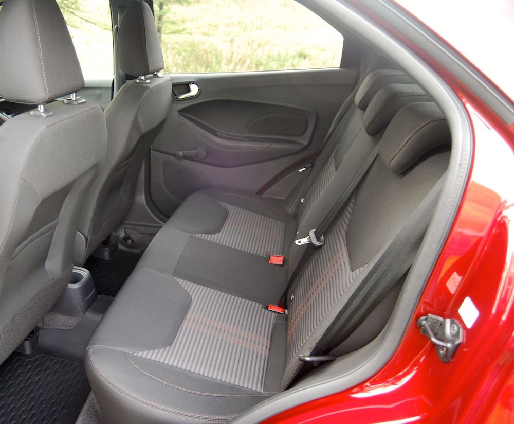 ford ka+ active rear seats review roadtest
