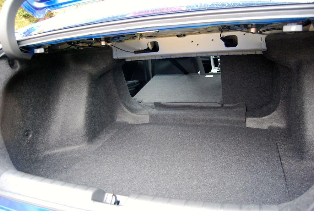 honda civic 4 door rear seats down review roadtest