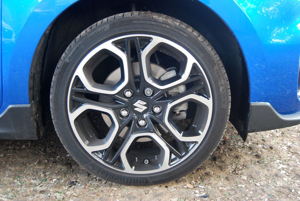 suzuki swift sport 2018 wheel review roadtest