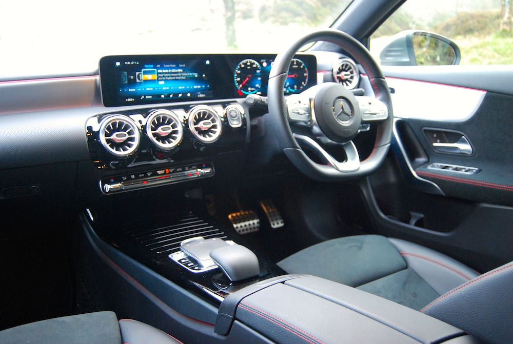 2019 mercedes benz a class interior cabin review roadtest