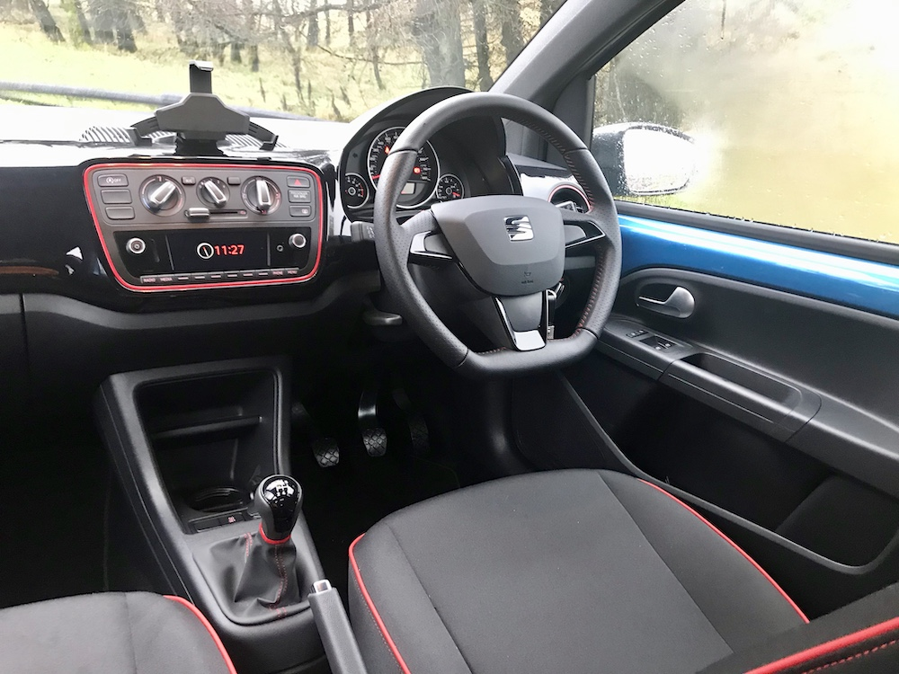 Seat Mii Fr line interior cabin review roadtest