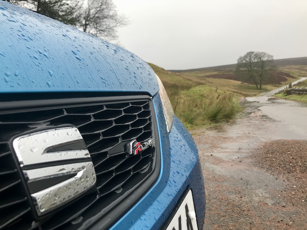 Seat Mii Fr line nose blue review roadtest