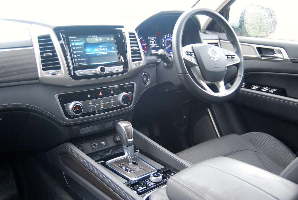 ssangyong rexton interior review