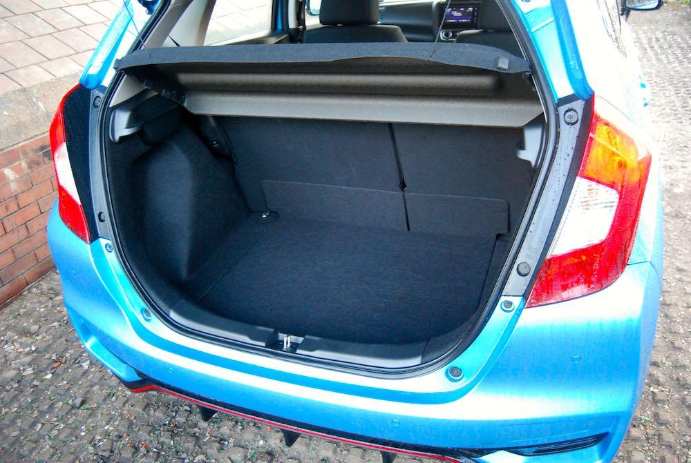 2019 honda jazz sport boot trunk review roadtest