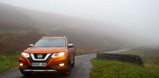 Nissan X-Trail orange front review roadtest