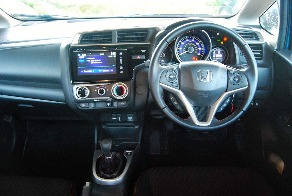 honda jazz sport 2019 interior review road test