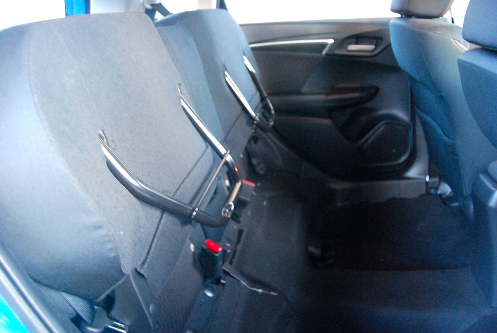 honda jazz sport magic seats review road test
