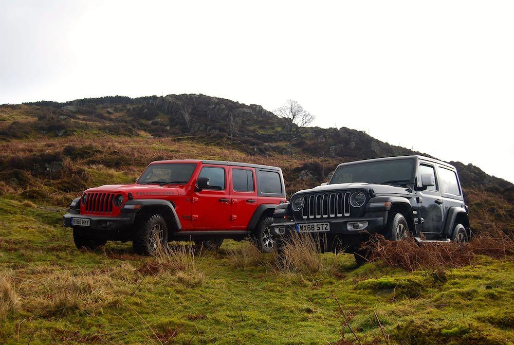 2019 jeep wrangler jl red black rubicon front