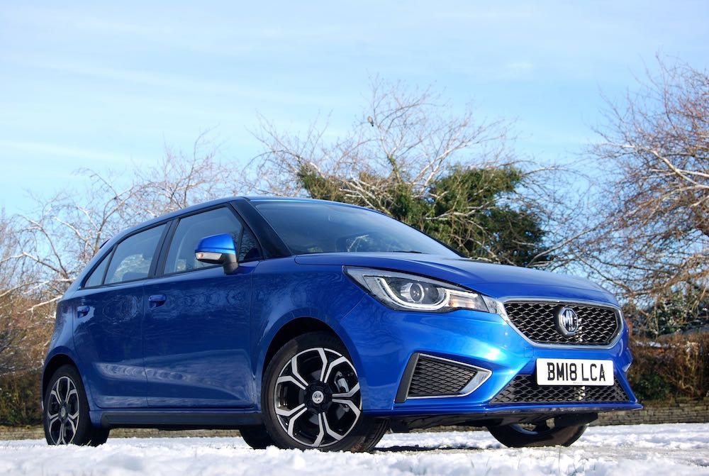 new 2018 mg3 blue front side low review roadtest