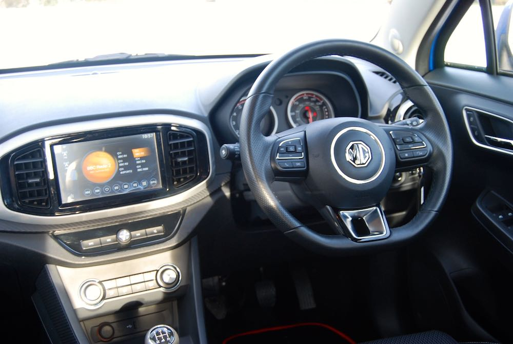 new 2018 mg3 interior cabin review roadtest