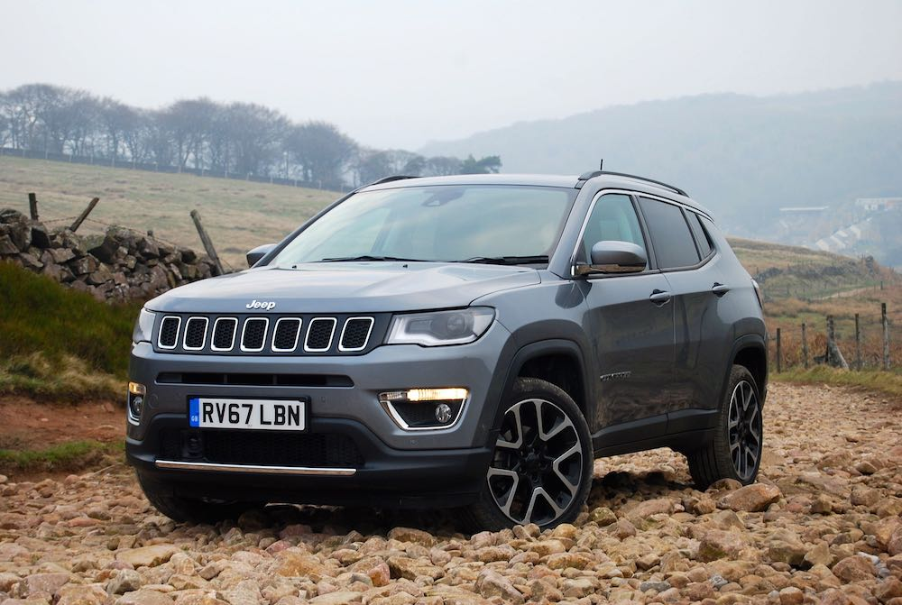 2019 jeep compass grey front side review roadtest