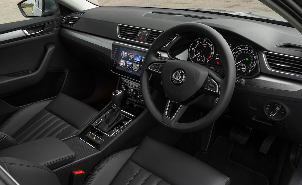 2019 skoda superb hatch cabin interior review roadtest