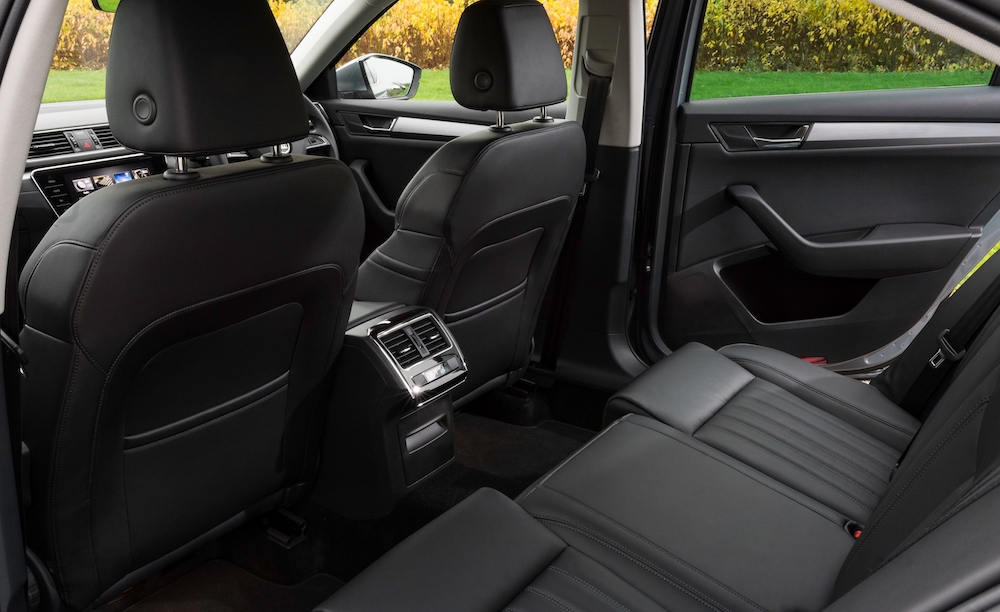 2019 skoda superb hatch rear seats review roadtest