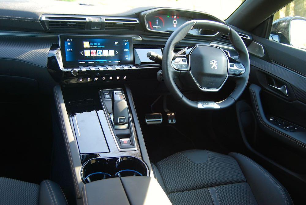 peugeot 508 interior cabin review roadtest