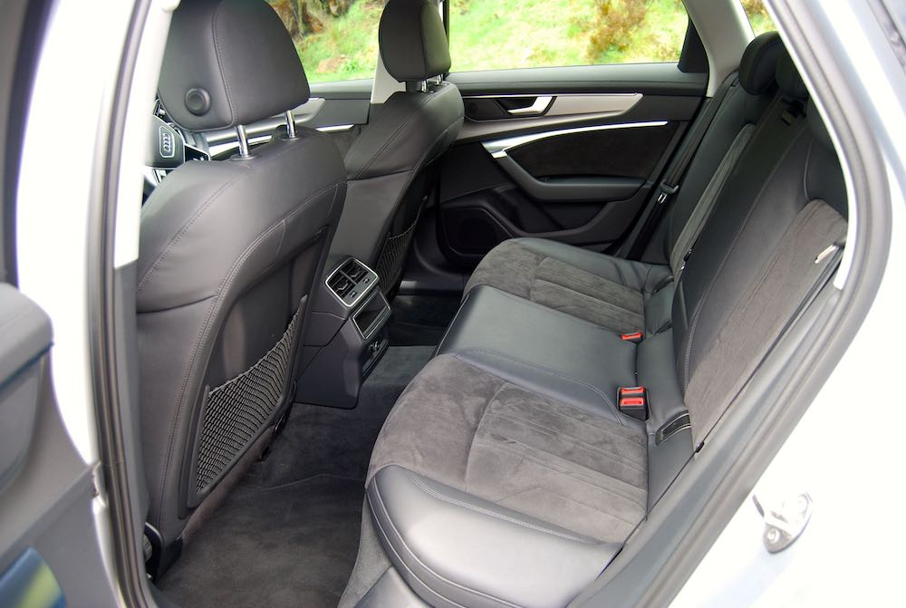 2019 Audi A6 Avant rear seats review roadtest