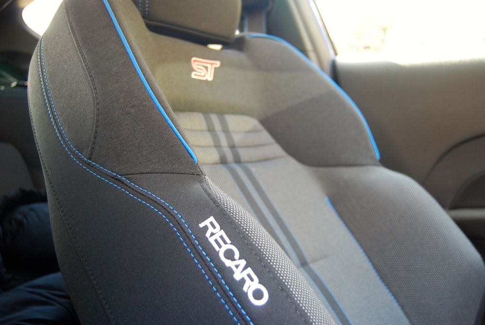 2019 ford fiesta st recaro seats review roadtest