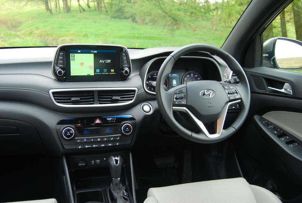 2019 hyundai tucson interior cabin review roadtest