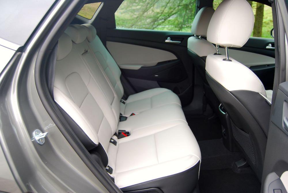 2019 hyundai tucson rear seats review roadtest