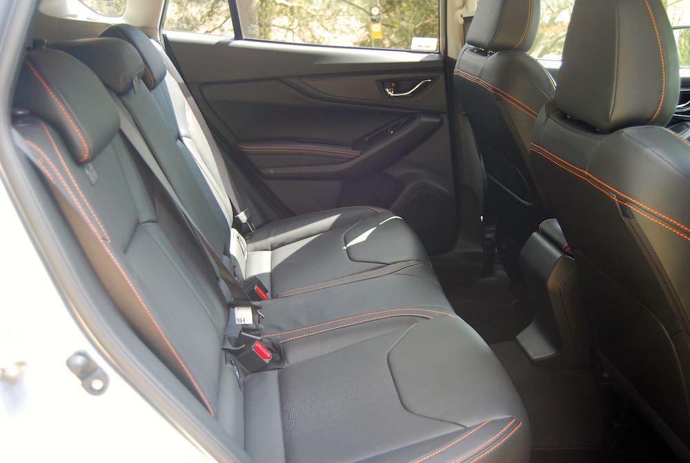 2019 subaru xv rear seats review roadtest