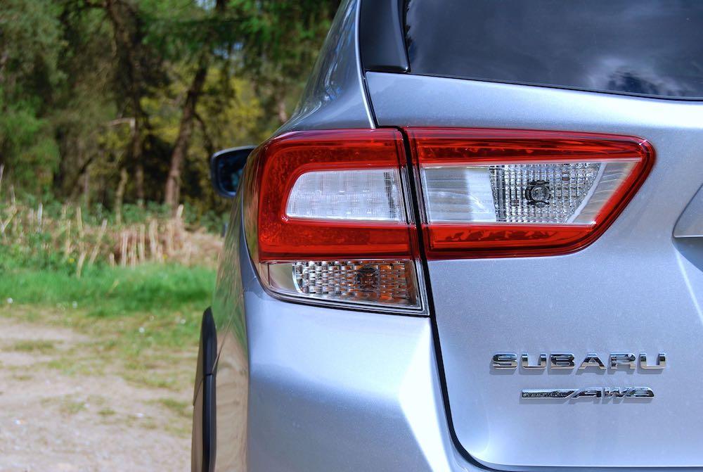 2019 subaru xv silver rear light review roadtest