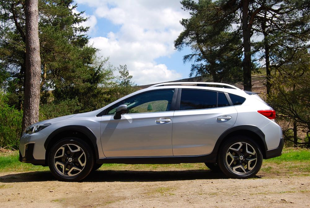 2019 subaru xv silver front side review roadtest