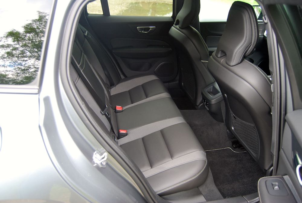 2019 volvo v60 r design rear seats review roadtest