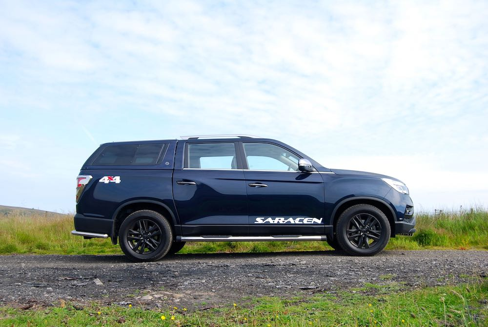 2019 SsangYong Musso Saracen Blue Side Review Roadtest