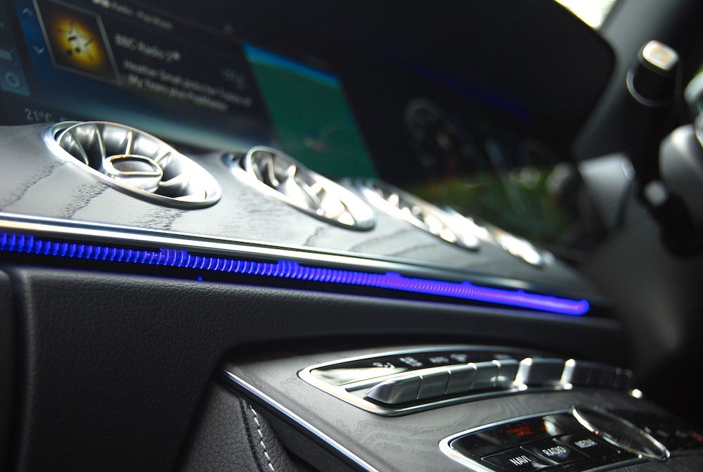 2019 mercedes benz e400d coupe ambient lighting review roadtest