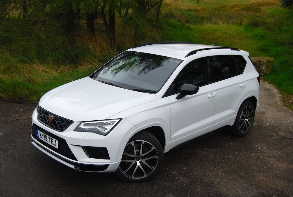 2019 cupra ateca white front side review roadtest