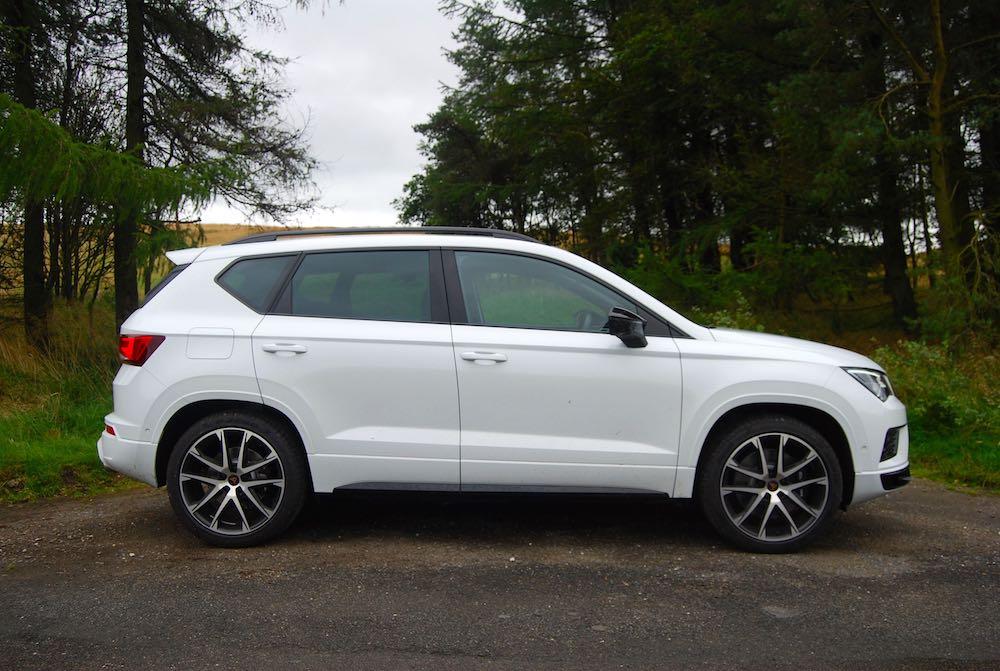 2019 cupra ateca white side review roadtest