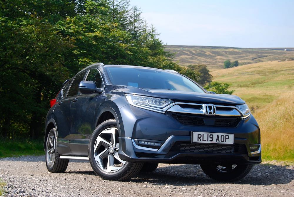 2019 honda cr-v front side review roadtest
