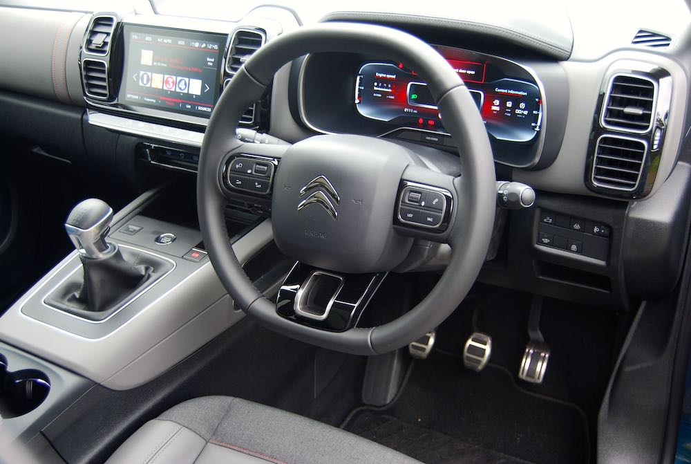 2019 citroen c5 aircross interior cabin review roadtest