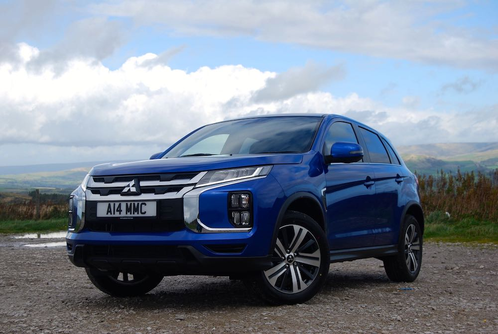 2019 mitsubishi asx front side blue review roadtest