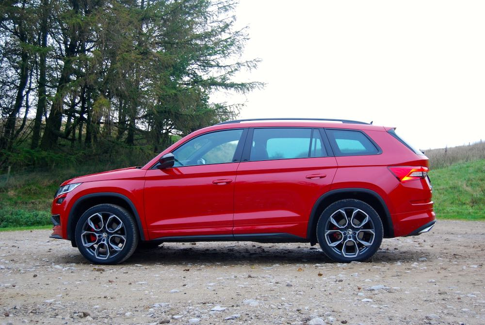 2019 skoda kodiaq vrs red side review roadtest