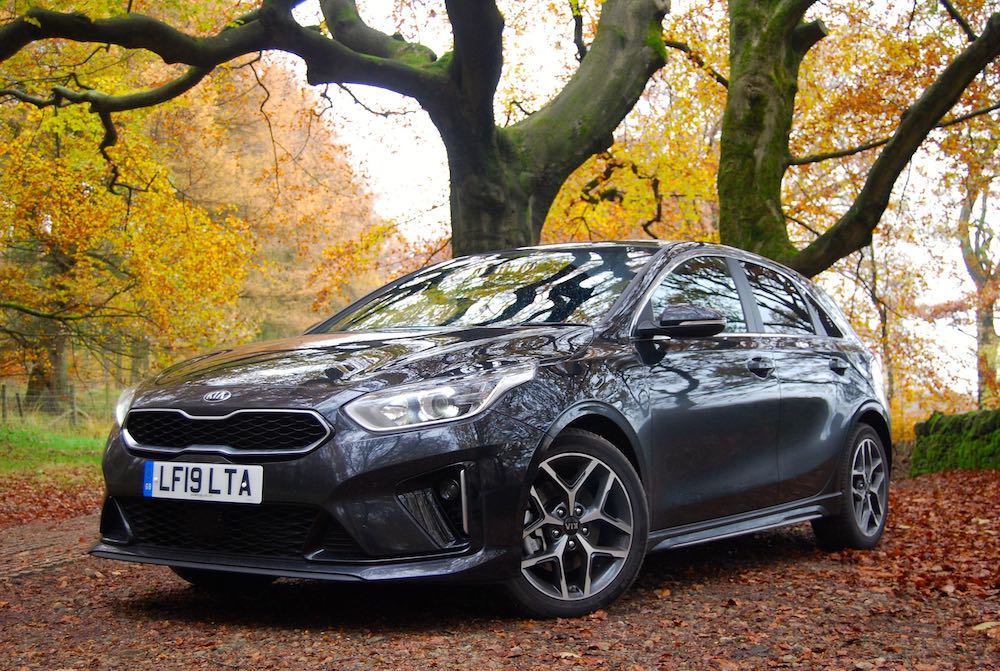 2019 kia ceed gt line grey front side review roadtest