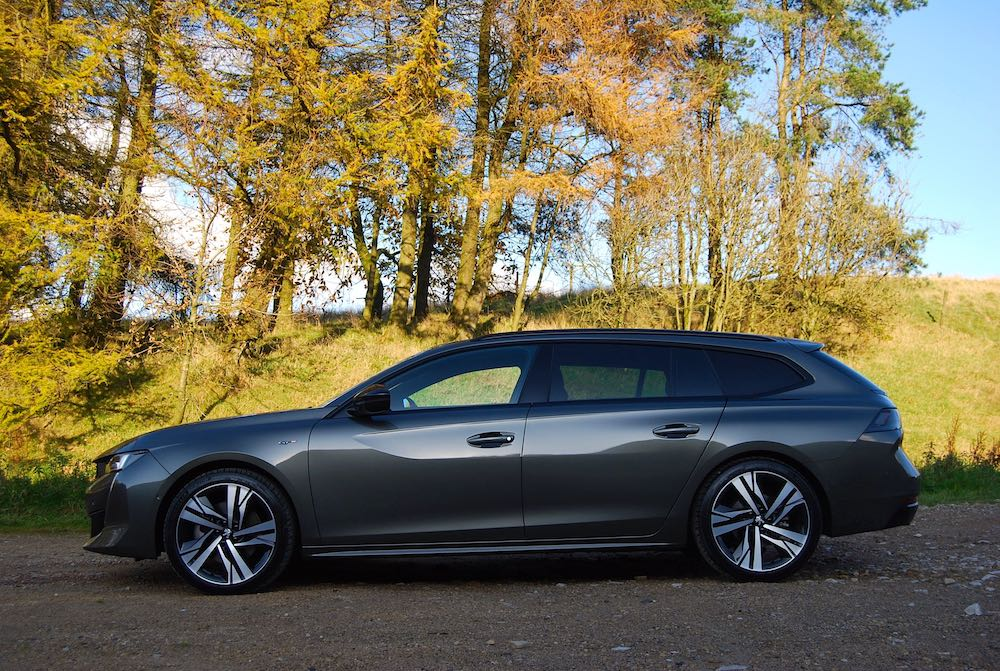 2019 peugeot 508 sw side review roadtest