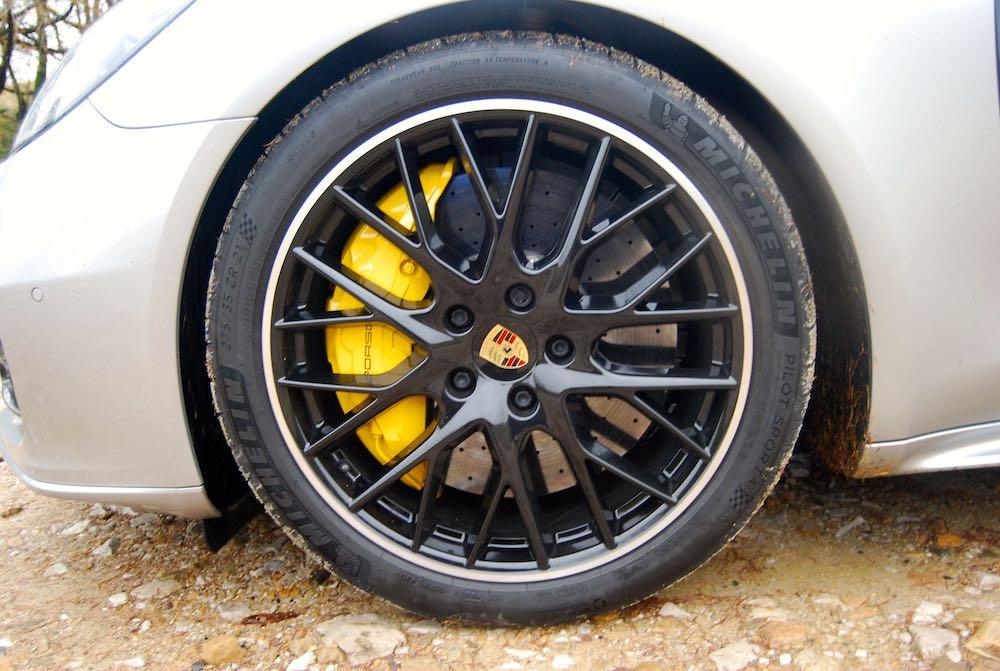 porsche panamera turbo s e-hybrid sport turismo carbon brakes review
