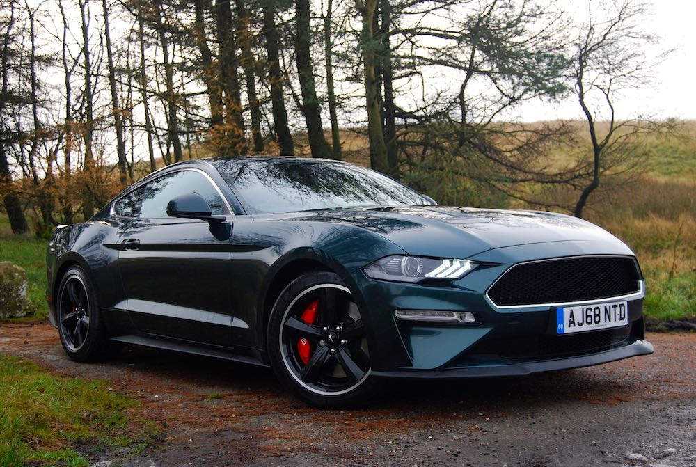 2020 ford mustang bullitt green front side review roadtest