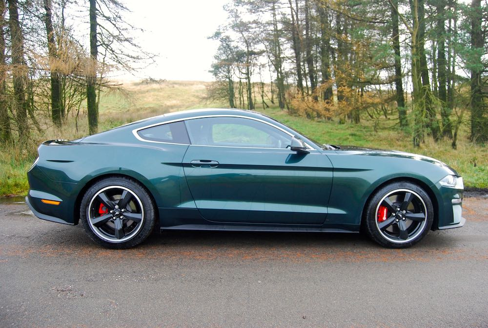 2020 ford mustang bullitt green side review roadtest