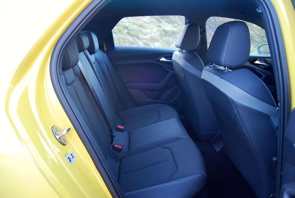 2020 audi a1 sportback rear seats review roadtest